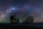 Very Large Telescope auf dem Cerro Paranal in Chile (Foto © ESO/Y. Beletsky)