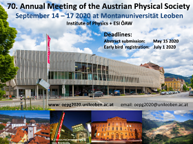 Poster Annual Meeting 2020