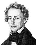 Christian Doppler, Portraitzeichnung; © Unbekannt - http://www-groups.dcs.st-andrews.ac.uk/~history/PictDisplay/Doppler.html