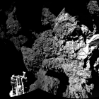 Welcome to a comet; © ESA/Rosetta/Philae/CIVA